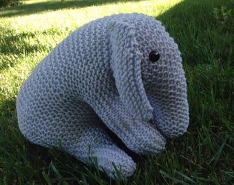 Knitted Elephant, Large
