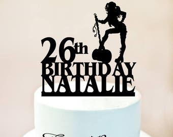 Harley quinn cake topper,Harley Birthday Cake Topper,Daddy's Lil Monster,Superhero Birthday Cake Topper,Harley Quinn party (1118)