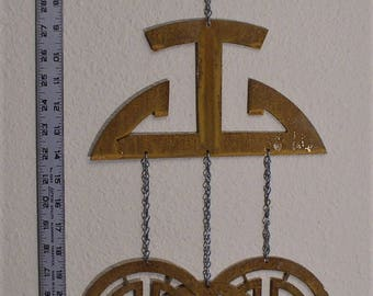 Prosperity symbol wind chime