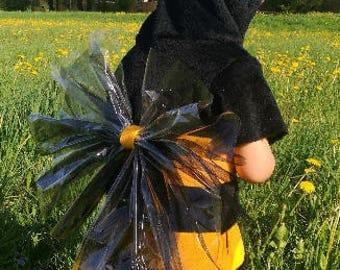 Bee costume / Bee hoodie / Toddler Costume / Kids Costume / Bee dress up / Handmade costume / Halloween costume