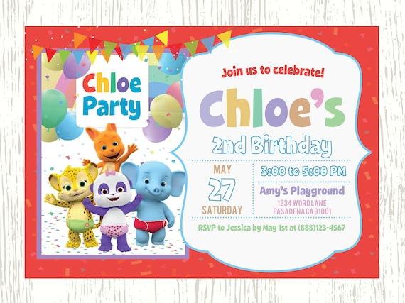 Word party birthday word party invitation netflixs word party birthday word party invitation netflixs word party word party birthday invitation lulu franny bailey kip stopboris Image collections