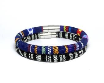 Native american bracelet/Boho ethnic bracelet/Woven bracelet/Friendship bracelet/Boho chic Peruvian bracelet/Ethnic jewelry/Gift for him/her