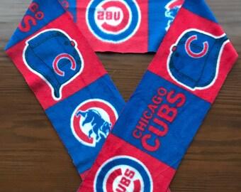 Chicago Cubs Fleece Scarf