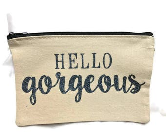 Makeup Bag - Hello Gorgeous