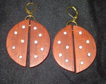 """Earrings """"Ladybug"""" collection"""