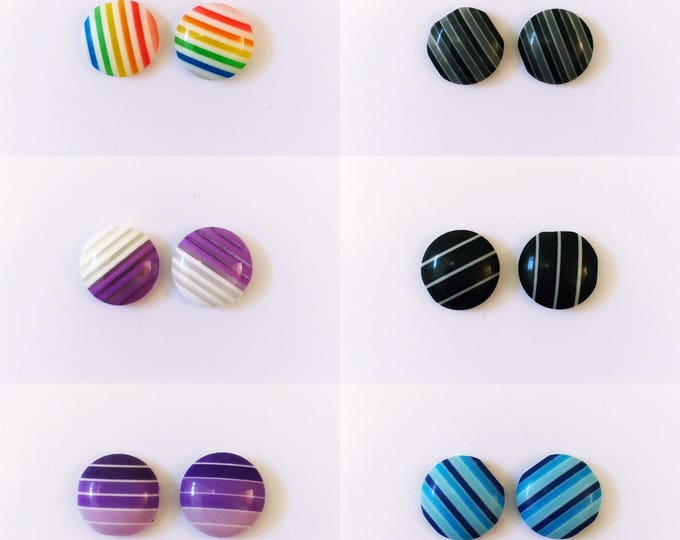 DEAL: 2 for 6 - The 'Candy Collection' Earring Studs