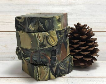 Camo Cold Process Soap