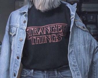 Stranger Things Tee Crewneck