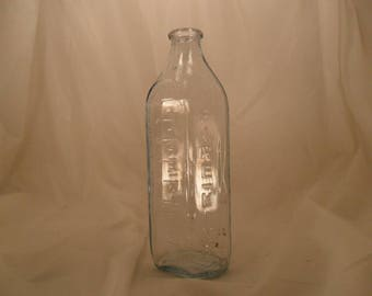 Antique Fire King Baby Bottle