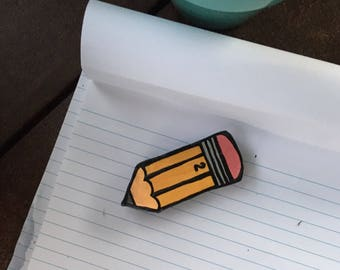 Magnet, 2-D Polymer Clay Pencil