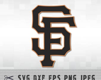 San Francisco Giants SVG PNG DXF Logo Layered Vector Cut File Silhouette Cameo Cricut Design Template Stencil Vinyl Decal Transfer Iron on