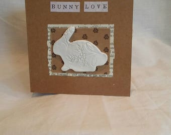 Bunny Love Greeings Card