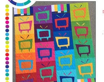 Mod TV Quilt Pattern