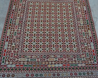 Big sale 35% OFF 6 x 3'10 FT Tribal Kazak kilim rug Persian rug