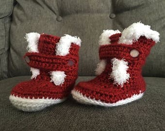 3-6 Mo. Baby Bootie