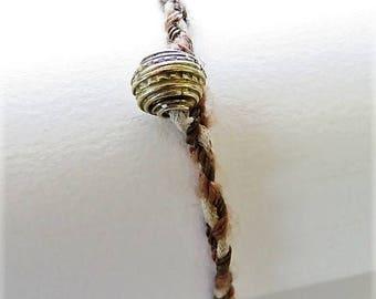 Braided bracelet 16403