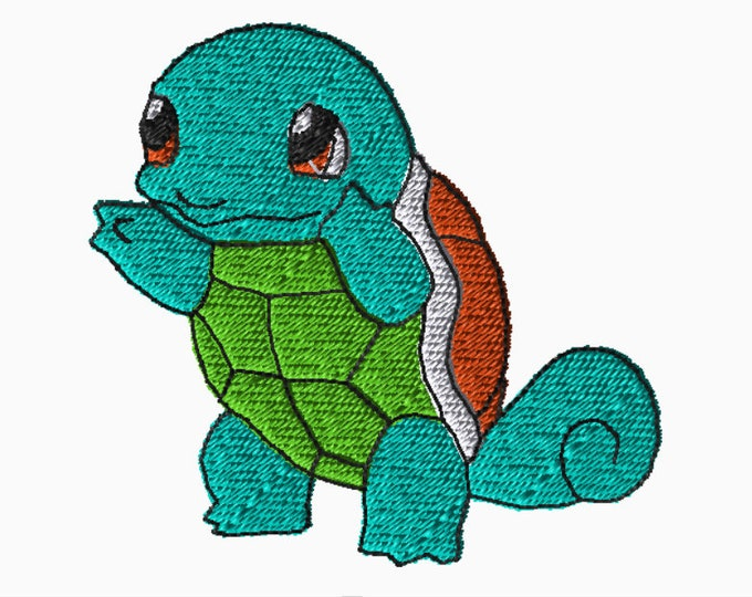 Featured listing image: 5x7 Embroidery File: Pokemon, Choose Your Size and Format