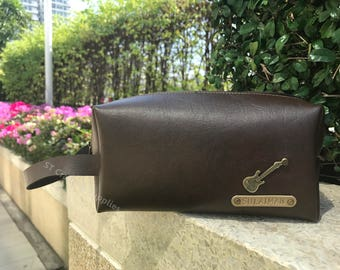 Customized Dopp Kit / Personalized Toiletry Bag / Cosmetic Bag / Shaving Kit / Travel Kit / Pencil Case