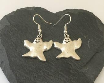 Halloween ghost earrings / ghost jewellery / Halloween jewellery / Halloween gift