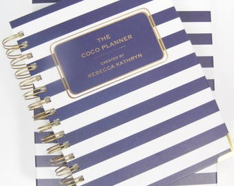 ON SALE! The Coco Planner Weekly, 18 Month Diary 2017-2018, Mid Year Academic Planner