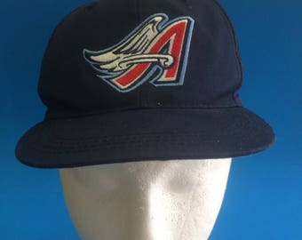 Vintage Los Angeles Angels SnapBack hat 1990s Youth size