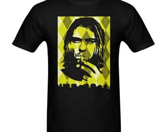 ArgyleDrip tee x Kurt Cobain