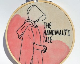 Embroidery The handmaid's tale