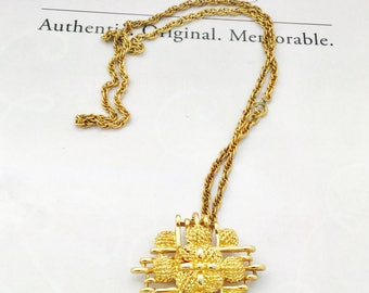 1970's Monet Chain and Pendant