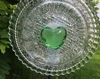Green Goddess Glass Flower