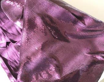 Fabric with sequin woven Lycra for evening attire