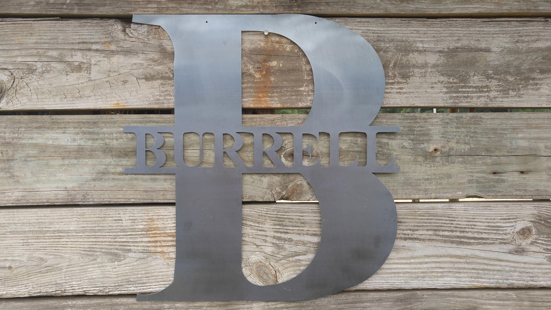 Letterlandusa door hanger metal letters custom metal sign metal signs amipublicfo Choice Image