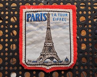 Vintage Ski Patch Paris