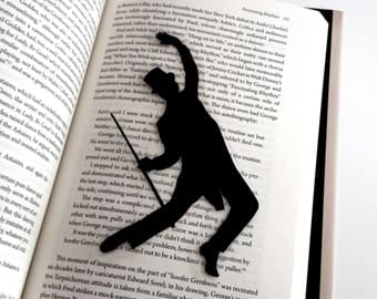 Fred Astaire Bookmark | Top Hat | Hand-Cut Silhouette