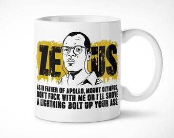 Die hard > Zeus-Cup exclusive mug/exclusive mug-crystal jungle John McClane Bruce Willis movie movie 90s Samuel L Jackson