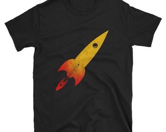 Model Rocket Short-Sleeve Unisex T-Shirt Scientist Science Universe Rocketry Engineer