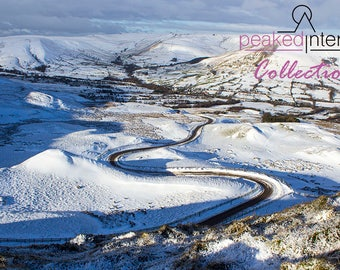 The Road to Mam Tor in Winter