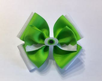 Monsters Inc. Mike Hair Bow