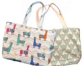 Llama or Teepee totebag Beach Shopping Bag tent wigwam  sc 1 st  Etsy & Llama underwear | Etsy