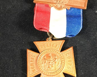 1883 Women's Relief Corps Medal