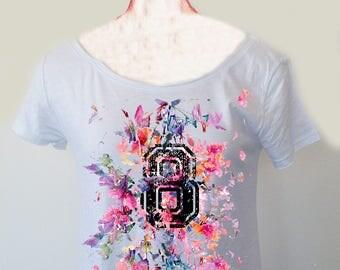 8 FLOWERS - t-shirt donna
