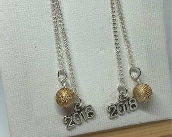Earring 2018 / new year earrings