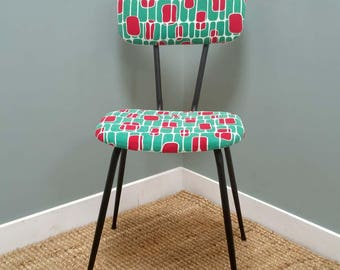 Vintage red and green Chair