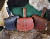 Birka Style Leather Belt Pouch
