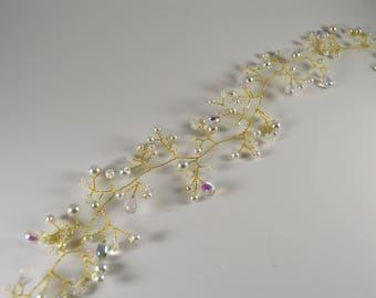 Wedding Bridal Hair vine ,Bridal hair accessory, Wedding accessory, Wedding  Hair Vine, wedding hair accessory, Bridal Hair piece.