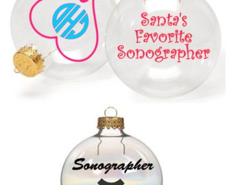 Sonographer Ornament