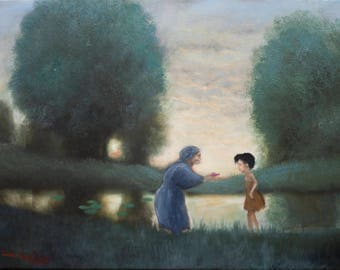 My Neighbor Totoro: Is this Mei's ? - Oil Painting