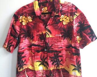 Vintage 80's Hawaiian Shirt