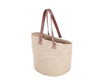 Rasoa Tote Bag - Crochet raffia
