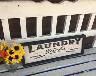 LAUNDRY SIGN/RUSTIC Decor/Laundry Room Signs/Laundry Room Decor/Rustic Laundry Sign/Signs Laundry Room