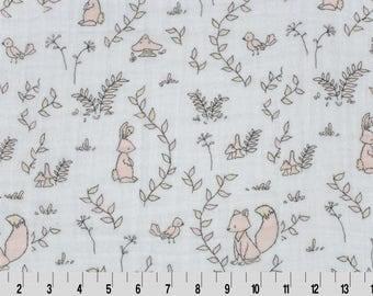"SMD Small Wonders Embrace, 100 % Cotton, 48/50"", Embrace Fabrics, Embrace Gauze Fabrics, Shannon Embrace."